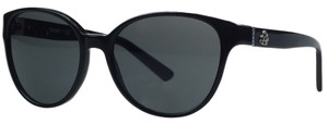 DKNY Donna Karan Black Round Sunglasses