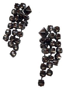 Rachel Roy Large Crystal Statement Earrings