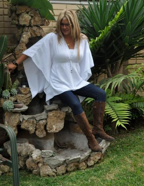 Lirome Bohemian Summer Beach Crochet Tunic