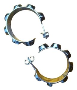Reed Krakoff Reed Krakoff Bionic Small Hoop Earrings