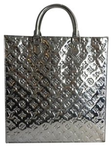 Louis Vuitton Monogram Tote in Silver