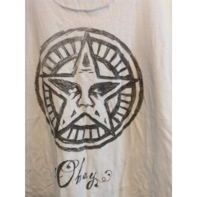 OBEY Top White