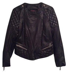 Giorgio Armani Blac Leather Jacket