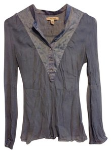 Free People Top Blue gray