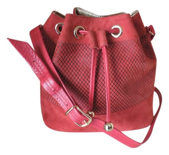 Preload https://item4.tradesy.com/images/timothy-hitsman-bucket-red-leathersuede-cross-body-bag-5199388-0-0.jpg?width=440&height=440