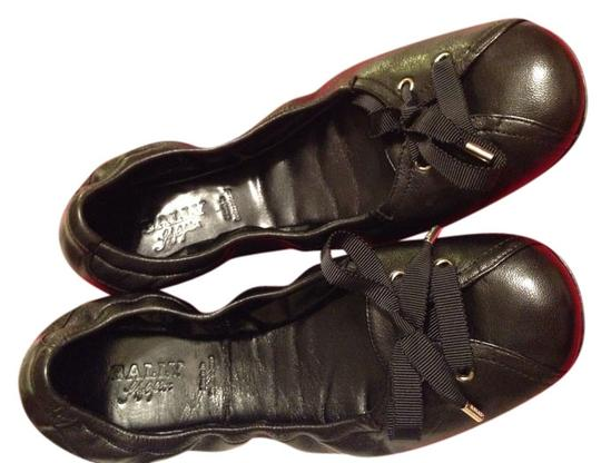 Preload https://item4.tradesy.com/images/bally-black-barth-leather-bow-flats-size-us-75-519963-0-0.jpg?width=440&height=440