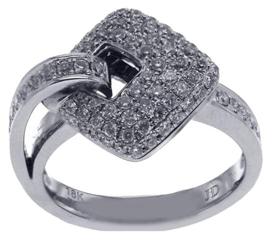 Other BRAND NEW, Ladies Buckle Pave Diamond Ring