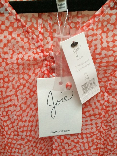 Joie Top Red, orange