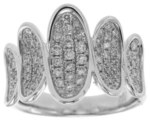 BRAND NEW, White Gold Ladies Diamond Cocktail Ring