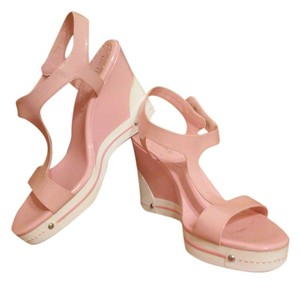BCBGeneration Icy Pink Wedges