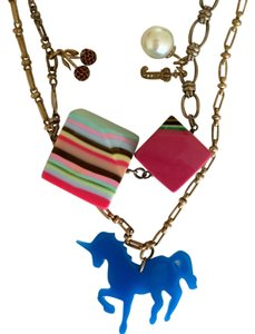 Juicy Couture Juicy Couture Rare Chunky Unicorn Necklace