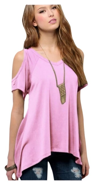 Preload https://item3.tradesy.com/images/pink-new-soft-cold-shoulder-tag-xxl-fits-xl-best-tunic-size-16-xl-plus-0x-5200447-0-0.jpg?width=400&height=650