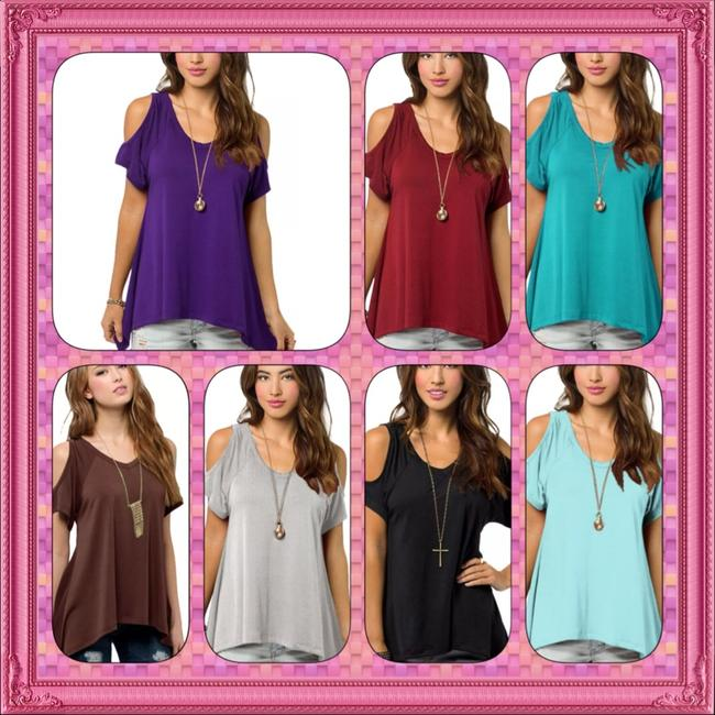 Other Tshirt Comfortable Work Date Night Sexy Pastel Spring Tunic