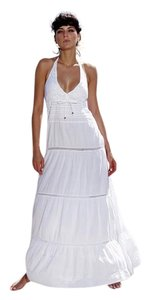 White Maxi Dress by Lirome Crochet Summer Beach