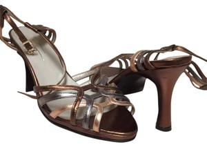Tara Keely Copper Gold Silver Sandals