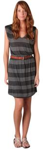 Joie short dress Heather Charcoal Soft By Soft Stripe Hem Shirt Tail Cute Comfortable Sam on Tradesy