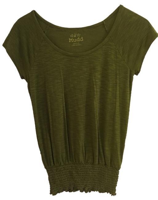 Mudd Top Army Green