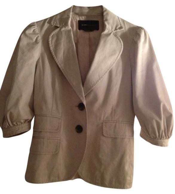 BCBGMAXAZRIA Office Work Wear Khaki Blazer