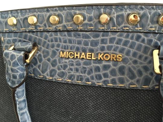 Michael by Michael Kors Satchel in Denim