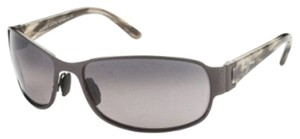 Maui Jim Maui Jim 244-02 Black Gunmetal/Grey Lenses Polarized Sunglasses