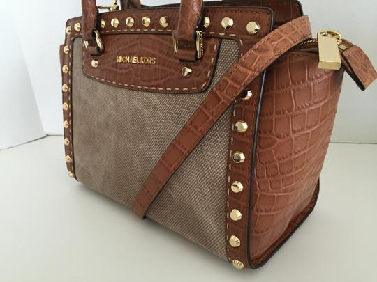 Michael by Michael Kors Satchel in Hemp