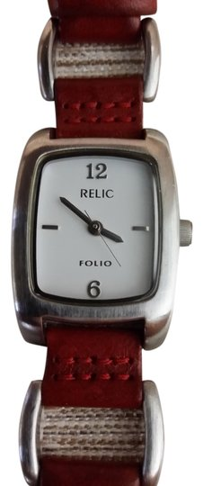 Preload https://item5.tradesy.com/images/relic-burnt-sienna-strap-white-and-stainless-face-folio-watch-5201794-0-0.jpg?width=440&height=440