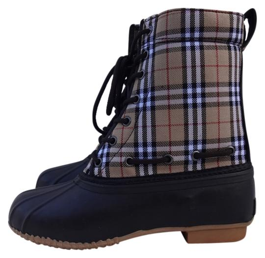 Preload https://img-static.tradesy.com/item/520207/natural-reflections-tan-plaid-pac-bootsbooties-size-us-10-0-0-540-540.jpg