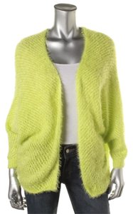 Love by Design Neon Batwing Dolman Open Front Open Stitch Fuzzy Cardigan