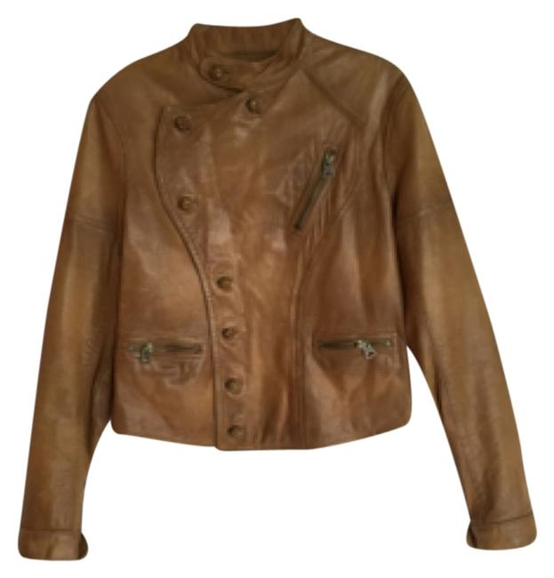 Preload https://item2.tradesy.com/images/ralph-lauren-blue-label-brown-leather-jacket-5202316-0-0.jpg?width=400&height=650