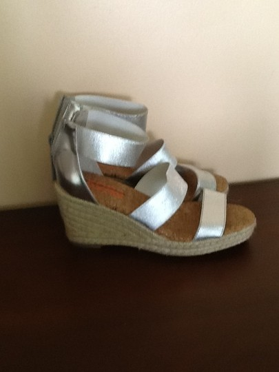 Michael Kors Size4 Silver Wedges