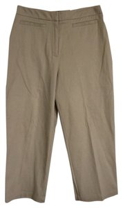 Croft & Barrow Cropped Capris Tan