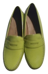Robert Zur You Would Never Know She Even Tried Them On lime green Flats