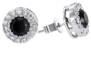 Other BRAND NEW, Black and White Diamond Studs