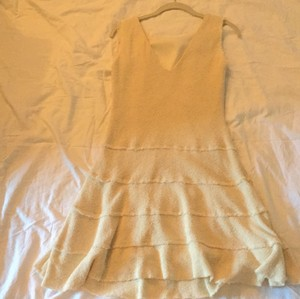 Zara short dress Cream on Tradesy