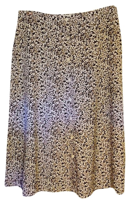 Christopher & Banks Skirt Brown/white