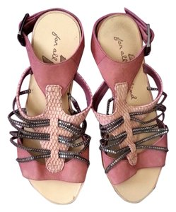 7 For All Mankind pink Flats