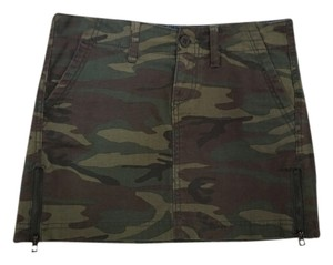 Lucky Brand Mini Skirt Army Green