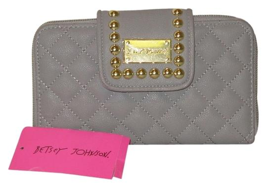 Betsey Johnson BETSEY BALL AND CHAIN FLAP WALLET BY BETSEY JOHNSON