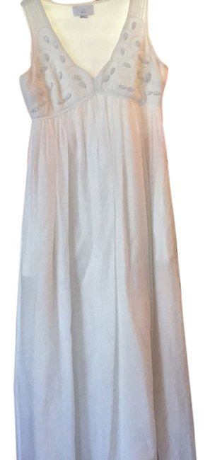 White Maxi Dress by ADAM