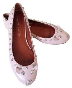 Marc Jacobs Studded Powder pink Flats
