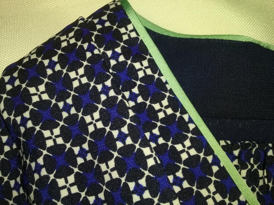 Halter neck Sophisticated Blouse amp; Camuto Vince Geometric Faux v Stunning Print wFz4q0nx7g