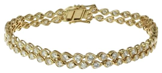Preload https://item1.tradesy.com/images/ladies-gold-and-diamond-tennis-bracelet-5204965-0-0.jpg?width=440&height=440
