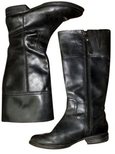 Fossil Audrina Riding Black Boots
