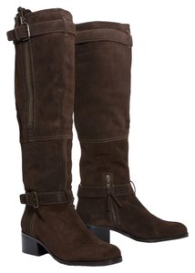 Pour La Victoire Over-the-knee Thigh High Suede Boho Brown Boots