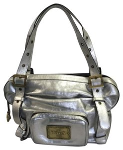 TOUS Satchel in Silver