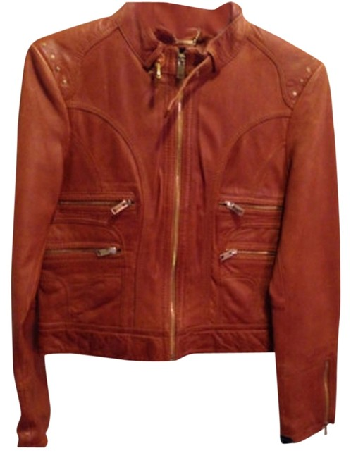 Preload https://img-static.tradesy.com/item/5205685/black-rivet-brown-cognac-moto-leather-jacket-size-8-m-0-0-650-650.jpg
