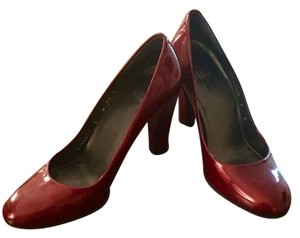Stuart Weitzman Red Patent Leather Pumps