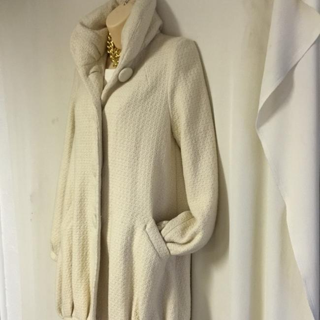 Erin Fetherston For Target Cream Wool Xs Coat