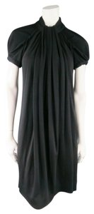 Marc Jacobs short dress Black Winter Fall Ruched Draped on Tradesy