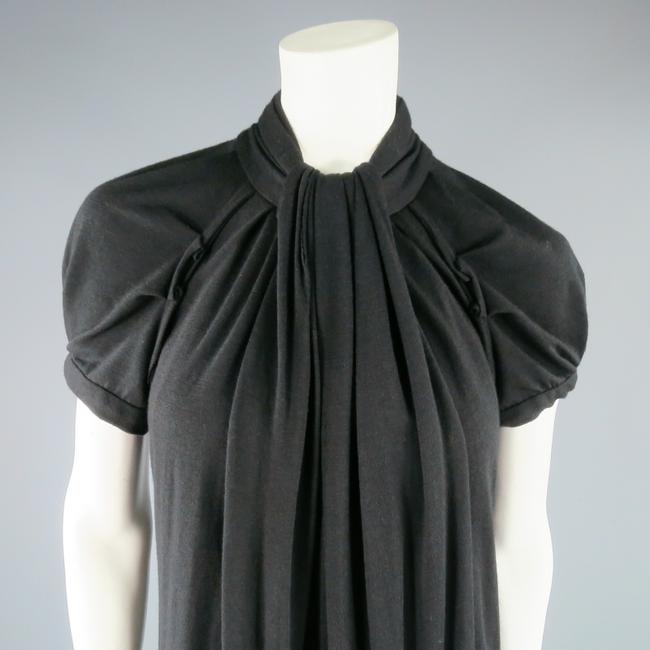 Marc Jacobs short dress Black Winter Fall Ruched Draped Sleeves on Tradesy